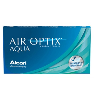 Air Optix Aqua [caixa de 3 lentes]