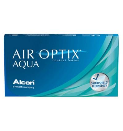 Air Optix Aqua [caixa de 3 lentes]