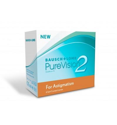 Purevision 2 Astigmatism [caixa de 6 lentes]