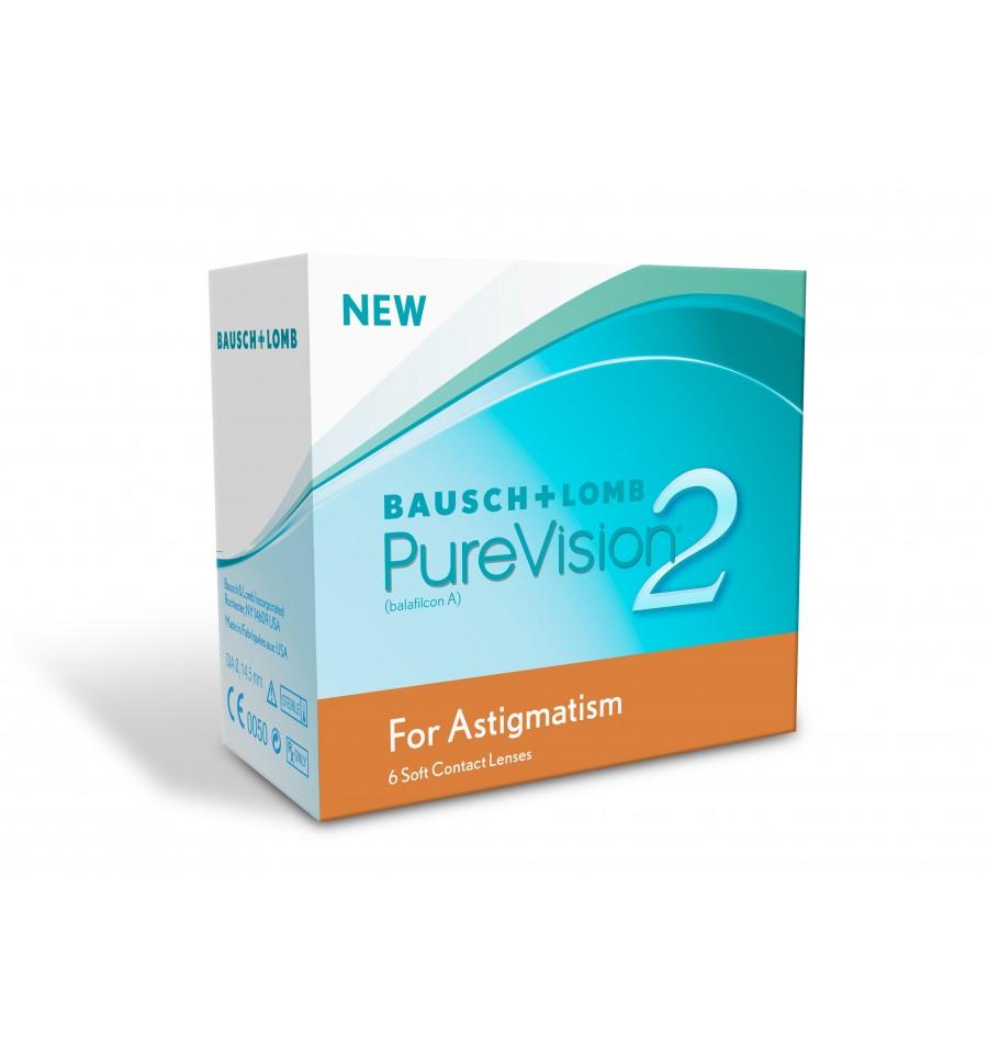 Purevision 2 Astigmatism  caixa de 6 lentes  52e91bc7d2