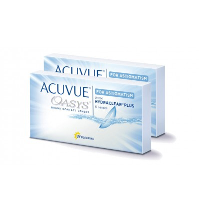 Acuvue Oasys Astigmatism [caixa de 12 lentes]