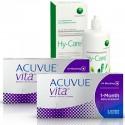 Pack 2 Acuvue Vita 6 + Hy-Care