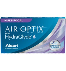 Air Optix HG Multifocal [caixa de 3 lentes]