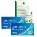 Pack 2 Air Optix HG 3 + Hy-Care