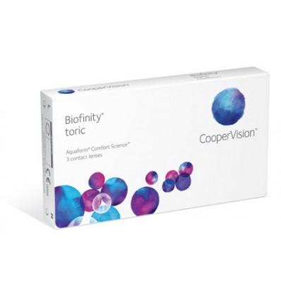 Biofinity Toric [caixa de 3 lentes]