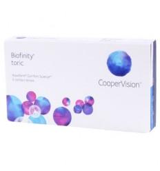 Biofinity Toric [caixa de 6 lentes]