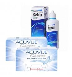 Pack 2 Acuvue Oasys 6 + Renu
